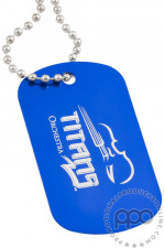 Blue Customizable Dog Tags