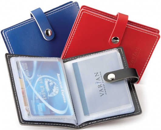 Vinyl card holder 3 x 425 business card holders office ppo colourmoves
