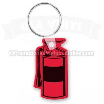 Fire Extinguisher Vinyl Keychain - Cool Die Cut Shapes - Soft Vinyl ... 36d463d78426