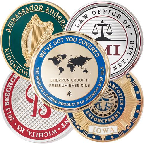 Custom Hard Enamel Challenge Coins
