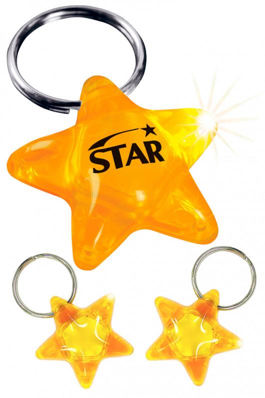 Star Light LED Keychain Flashlight