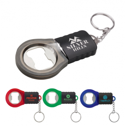 Bottle Opener with LED Keychain