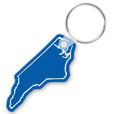 customizable die cut vinyl n carolina keychain