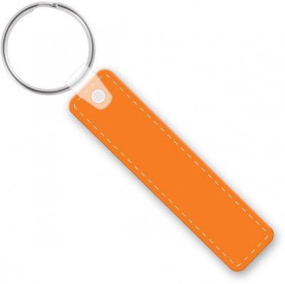 customizable die cut vinyl rectangle rc keychain
