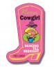 Magnet Cowboy Boot Shape 25 Mil