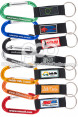 Carabiners Plus PVC Label and Strap