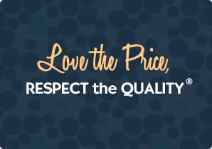 PPO Tagline, Love the Price, Respect the Quality®