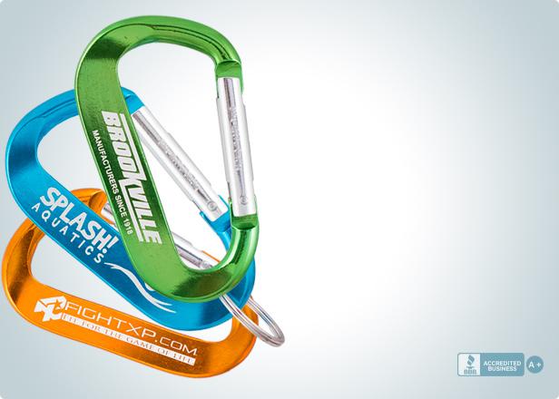 Customizable Carabiner Keychains