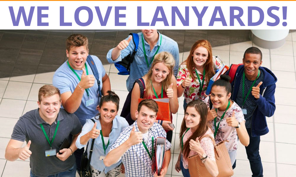 WE LOVE LANYARDS!